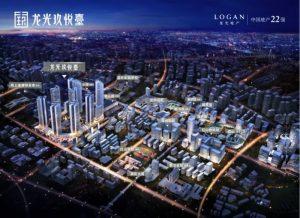 龙光玖悦台在售住宅和临街商铺